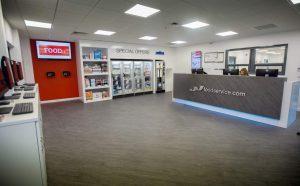 JJ Leicester customer area