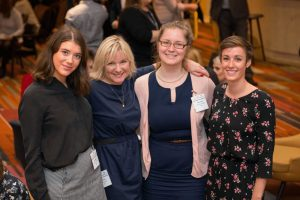 Jill Livesey, Managing Director, HIM (second from right) with her team at WiW Conference 2017